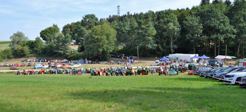 Blick auf den Landensberger Sportplatz