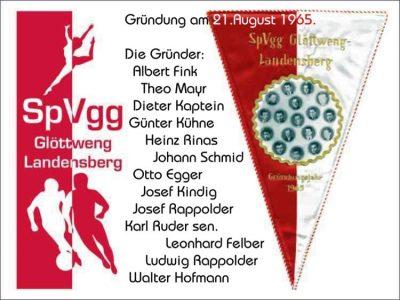 Vereinsgründung im Gasthaus Adler in Glöttweng