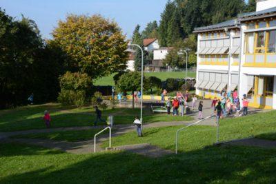 Turnhalle Röfingen, Rosshaupten, Schule, Grundschule, Kinderturnen