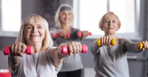 Seniorengymnastik, Stuhlgymnastik, Damen- und Herren-Fitness